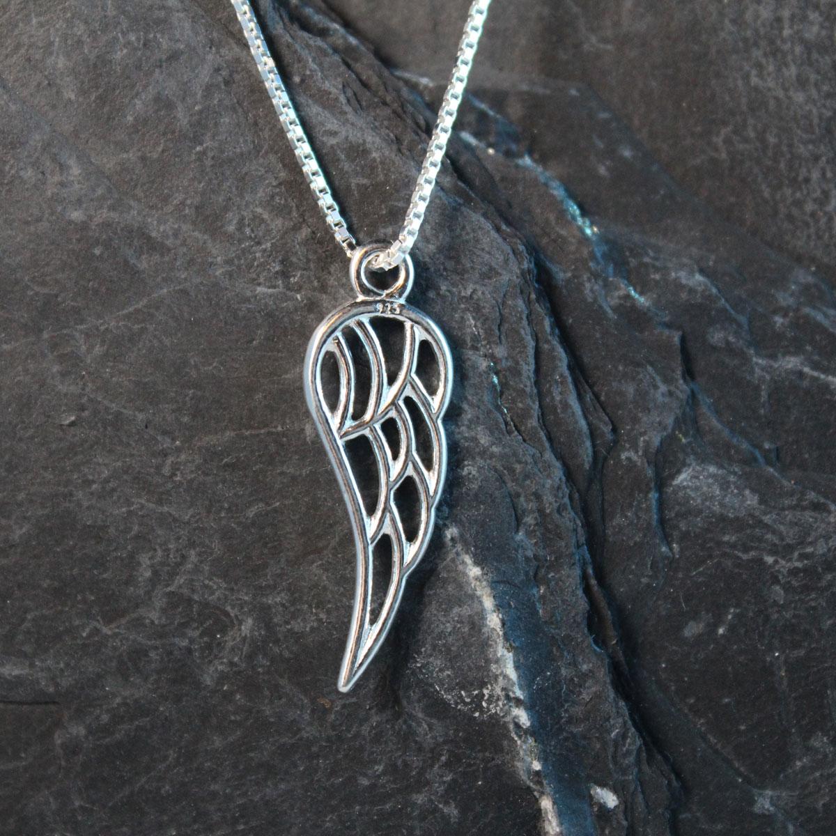 Schmuckextra Flügel Silber