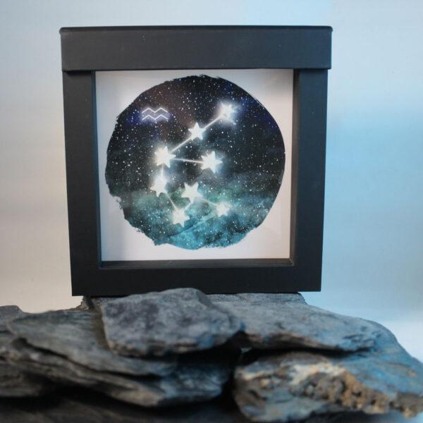Muttermilchschmuck Sternzeichen Wassermann aus Muttermilchsternen