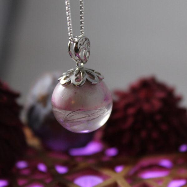 Tierzauber Perle mit Herzkappe