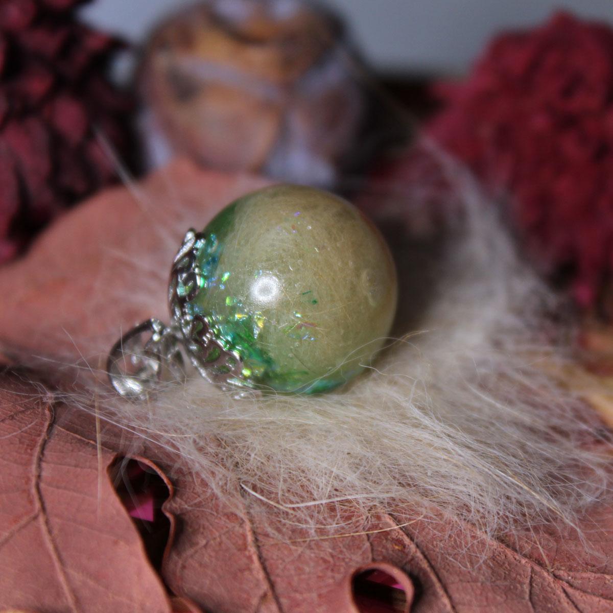 Tierzauber Perle mit Blütenkappe