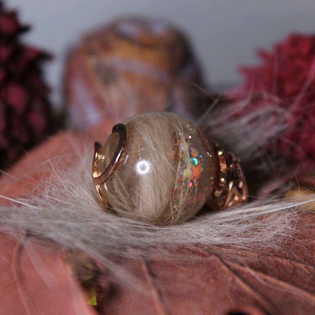 Tierzauber Perle mit Rankenfassung