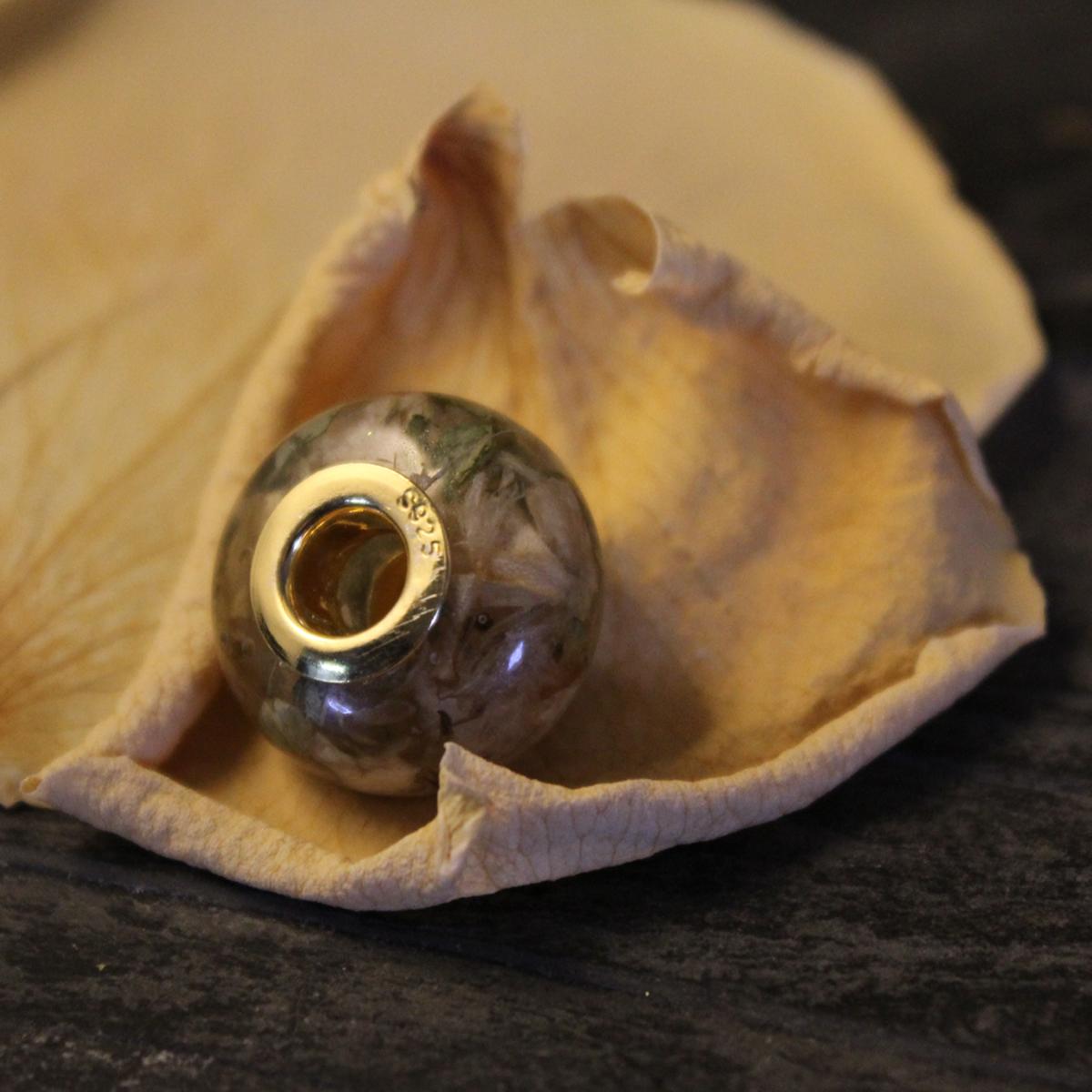 Blütenperle oval
