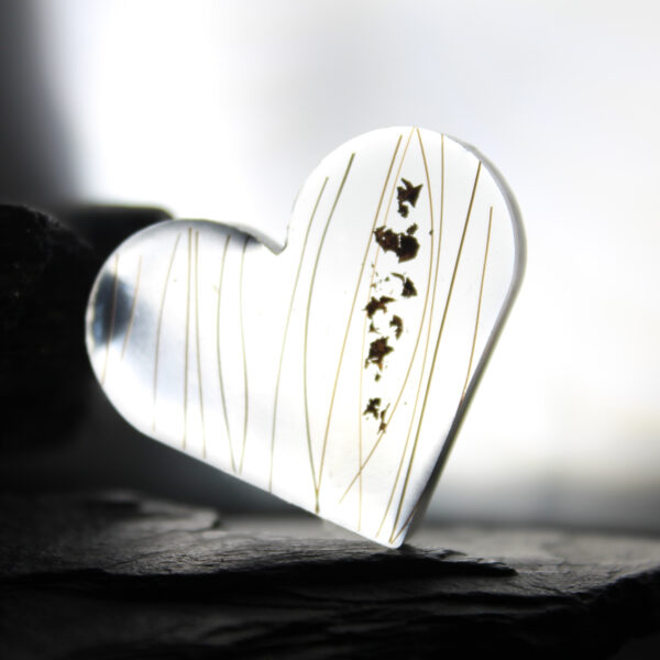Tierzauber Herz transparent